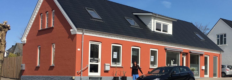 Easy2drive er Skørping køreskole lige midt i Skørping på Himmerlandsgade